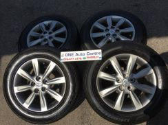 USED TOYOTA WISH 2010 OEM 15inc RIM&TIRE ALTIS