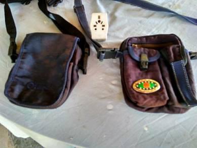 Used man sling bags