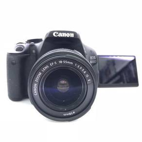Canon Eos 600D with 18-55 mm IS