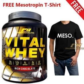 Vital Whey 2kg/4.41lbs + Mesotropin T-Shirt