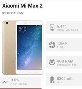 Xiaomi mi max 2 open swap