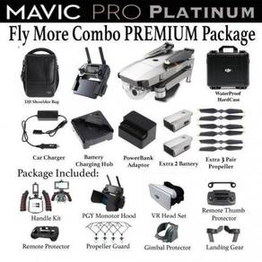 DJI Mavic Platinum Fly More Combo PREMIUM Pack