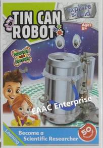 Tin Can Robot Scientific & Education Learning Toy