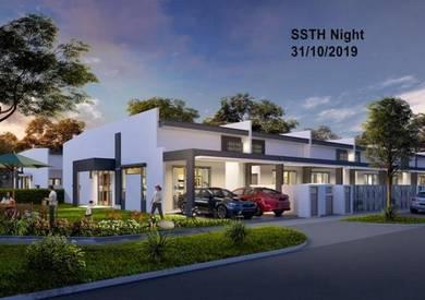 New 1 Storey Terrace House , batu 14, Hulu Langat