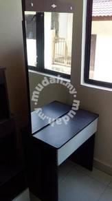 Black White Sliding Dressing Table TL561