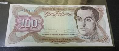 Venezuela 100 Bolivianos 1992