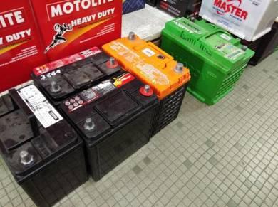 Used Bateri Car Battery Ns40 Ns60 Ns70 Din55