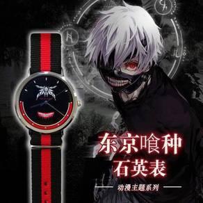 Anime Kineki Miku REM bleach Quartz watch