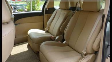 Toyota estima alphard semi leather seat cover