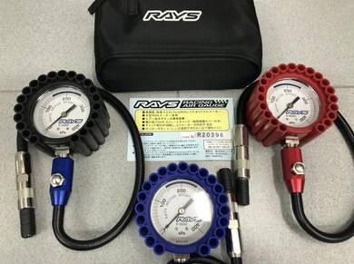 RAYS Japan Tire Pressure Gauge R-RAG60