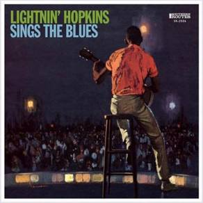 Lightnin' Hopkins Sings the Blues LP