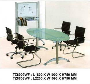 Furniture / Classy Glass Top Conference Table