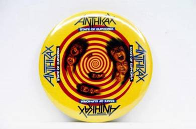Badge MAGNET - ANTHRAX - State of Euphoria CD