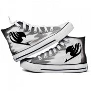 Fairy tail Natsu lucy erza gray canvas shoes
