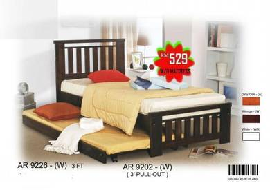 Single bed with pull out (AR-9226) 20/4