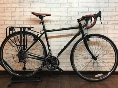 700C TOURING Bike 27S DEORE HYBRID Bicycle Basikal