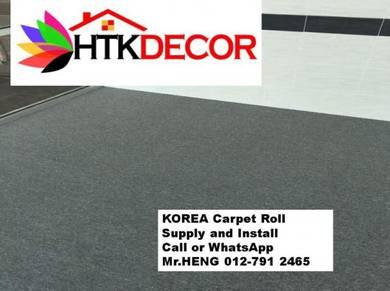 Corat Baru Karpet Roll Siap Pasang BQ25