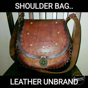 Cross Body Bag Leather Unbrand