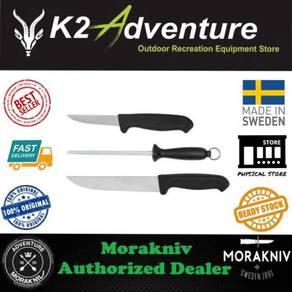 Morakniv butcher kit 2 knife + sharperning steel
