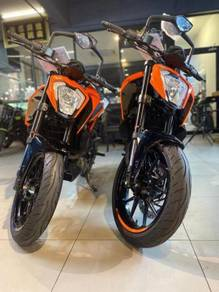 Ktm duke 250 ready stock low dp ic payslip