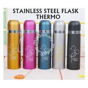 Stainless steel flask thermos