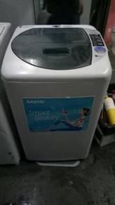 Washing Machine Sanyo 7kg Washer Mesin Basuh