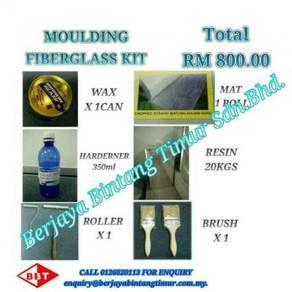 Moulding fiberglass kit