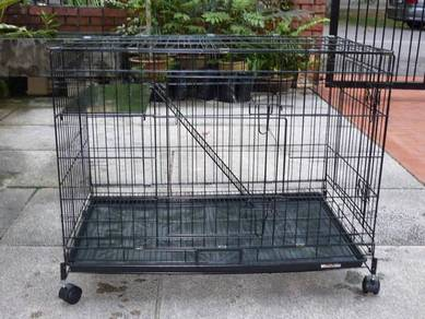 New 1 level cat cage