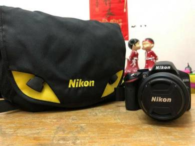 Nikon D3200 DSRL with lens kit