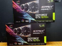 Asus rog strix gtx1070ti a8g gaming graphic card