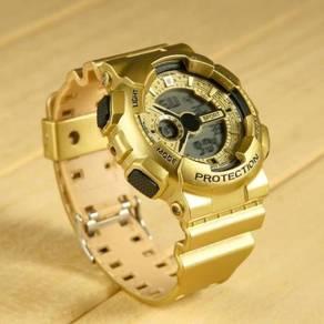 Gold Digital Sports Watch