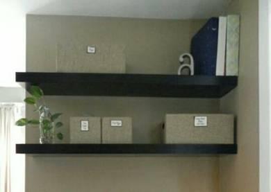 LACK Ikea wall shelf