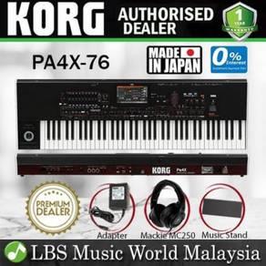 Korg Pa4X-76 76 Keys Professional Arranger Keyboar