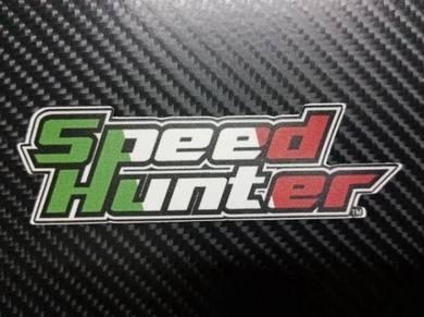 Stiker Speedhunter Original - Italy