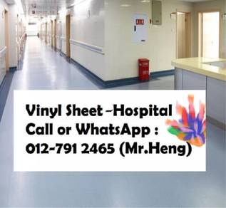 PVC Vinyl Sheet For Hospital Floor ST37