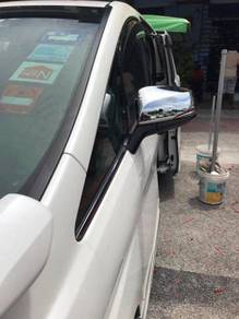 Innova fortuner Wish chrome side mirror with LED