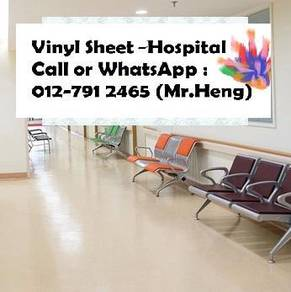 Hospital Vinyl Sheet With Expert Installation AR94