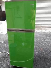Green Fridge Refrigerator Peti Samsung Ais Sejuk