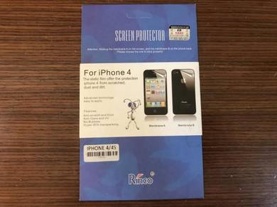Rinco Matte Screen Protector for iPhone 4/4s