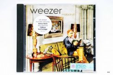 Original CD - WEEZER - Maladroit [2002]
