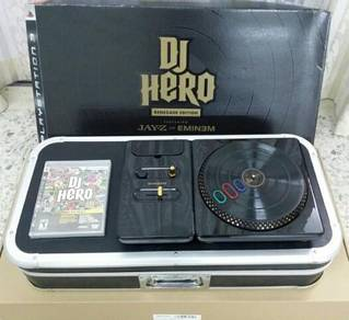 DJ Hero Renegade Edition For PS3