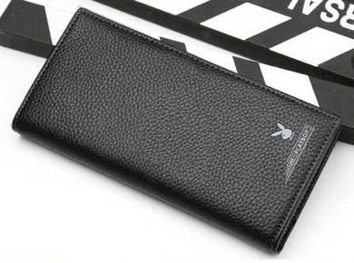 Original Playboy Genuine Leather Men's Long Wallet