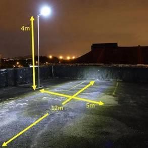 Solar Security Street Light 2500 Lumens - 25 Watts