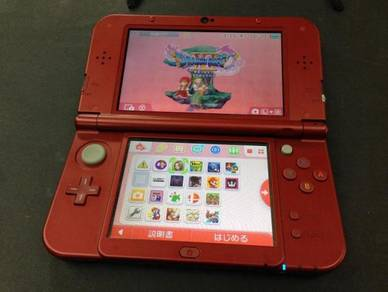 (USED) Nintendo N3DS LL + 32GB MMC