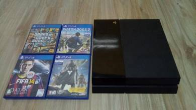 Sony PS4 + 4 games