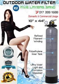 Outdoor Water Filter Longer Lifespan
