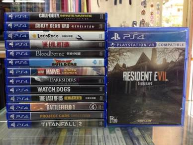 (USED) PS4 Games