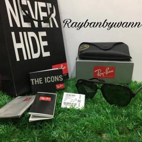 Original Rayban Cat 5000 black RB4125 59MM 21/4