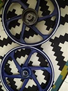 Rim pattern enkei 6 batang wave125