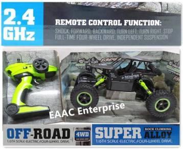 2.4G 4WD Remote Control RC Car Truck Jeep Green